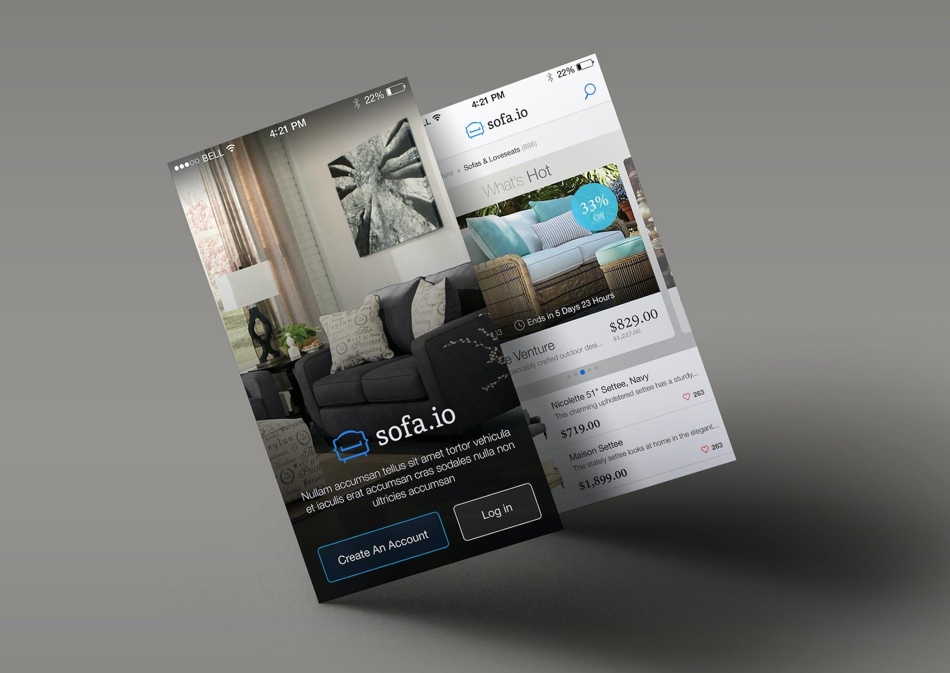 App-Screen-presentation-Mock-up