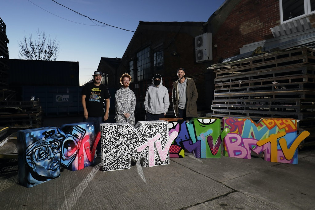 MTV EMA Statues