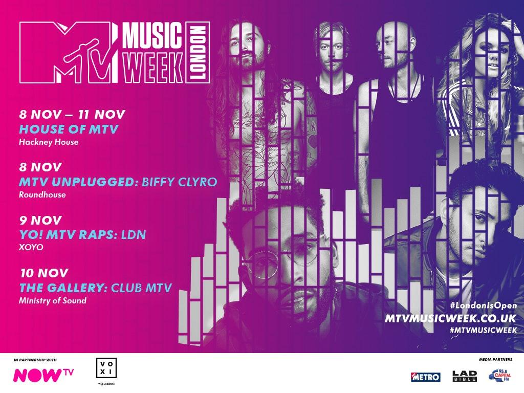 MTV Music Week