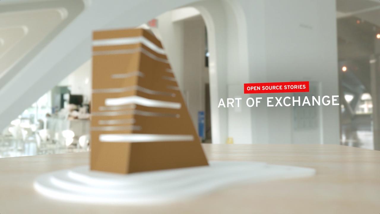 Open Source Stories: Art of Exchange -