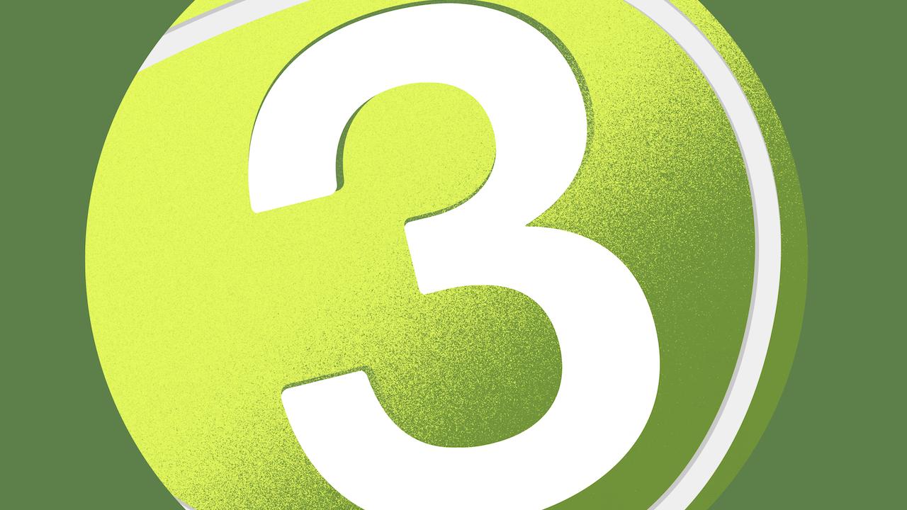 Three - A Tennis Show Podcast -