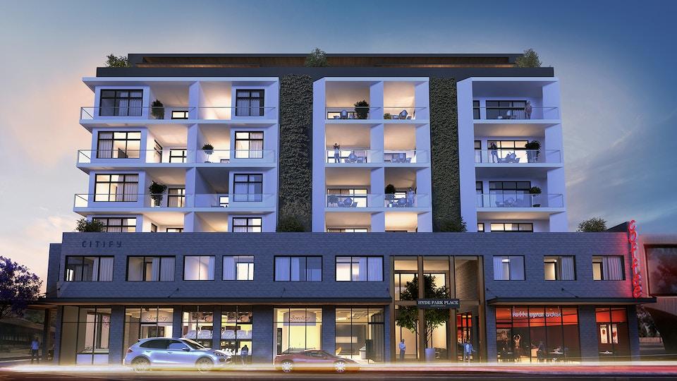 Apartment house viz