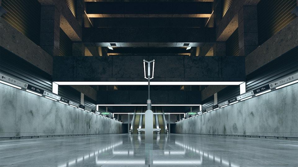 M4 subway station