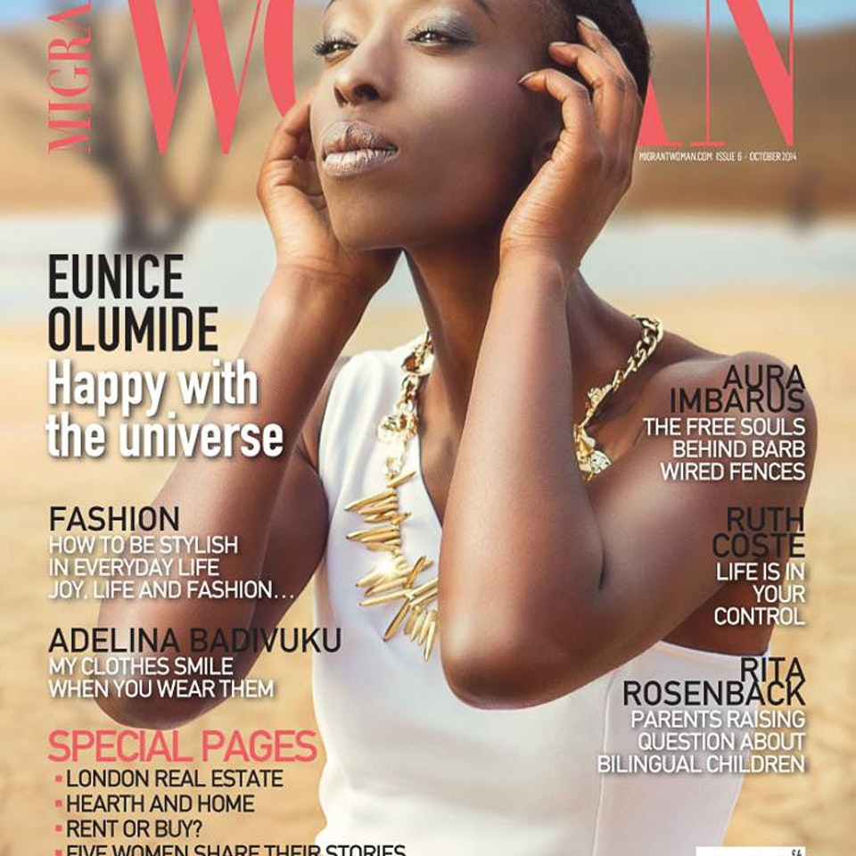 TEAR SHEETS 0094_eunice olumide cover october november e woman lee howell 1