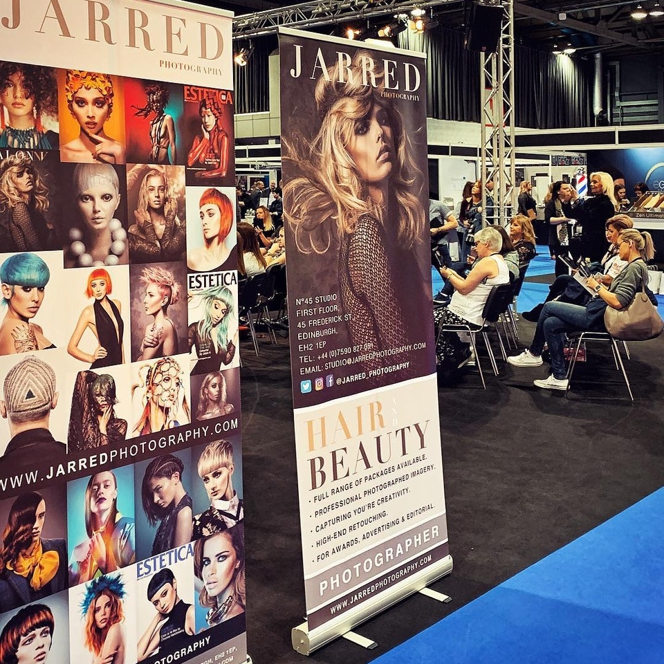 JARRED Photography - SCOTTISH HAIR & BEAUTY SHOW