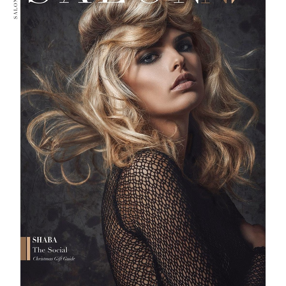 TEAR SHEETS JARRED Photography - Salon NV Front cover