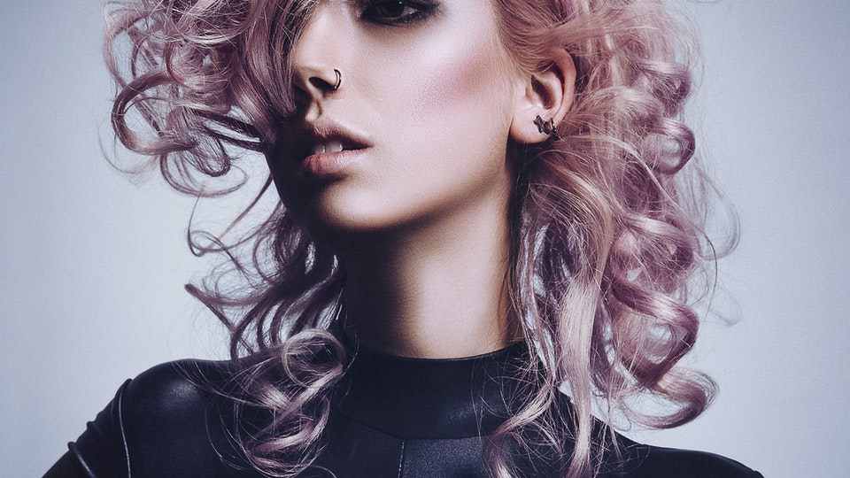 JARRED Photography - MOVEMENT IN LILAC BLONDE - AUSTEN THOMSON