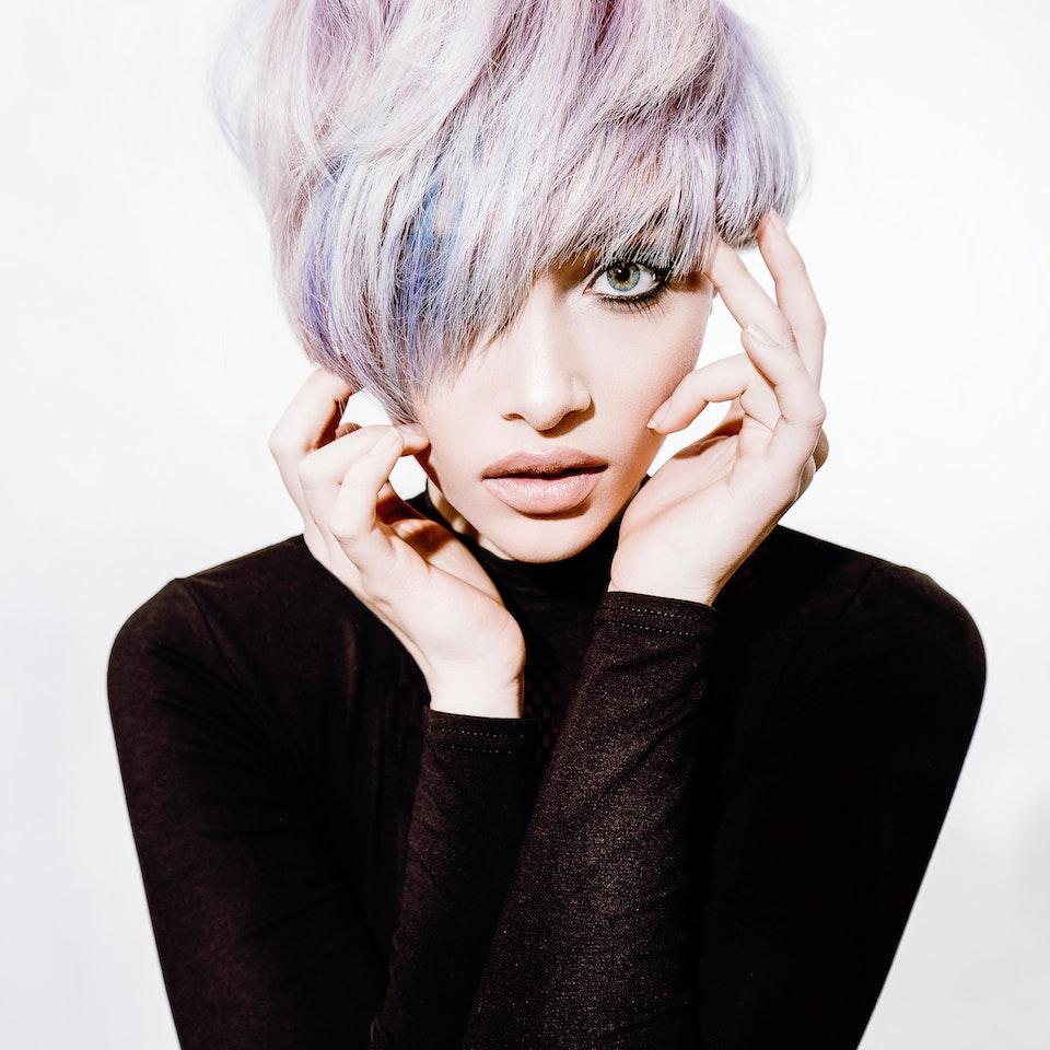 COLOURFUL HAIR JARRED Photography - COLOURFUL HAIR 2