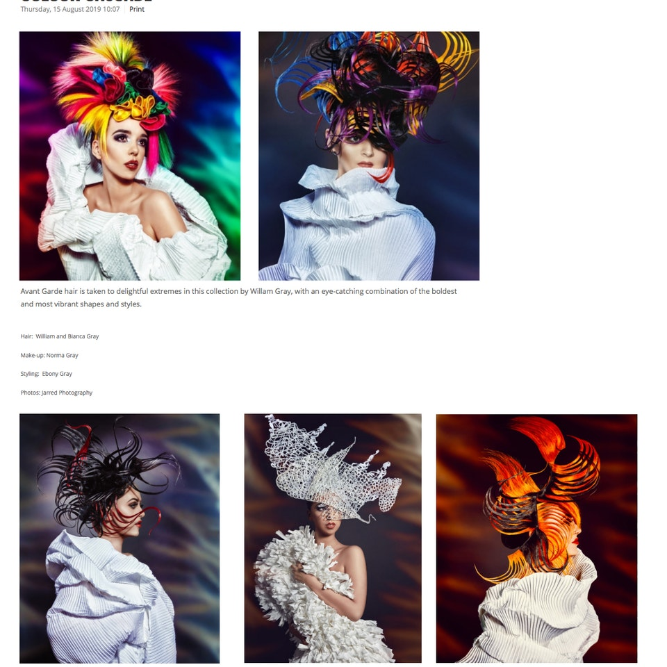 TEAR SHEETS Estetica uk