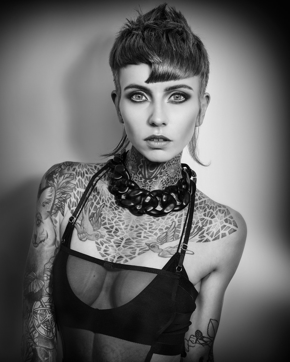 JARRED Photography - COLIN MCANDREW - BRITISH HAIR AWARD COLLECTION