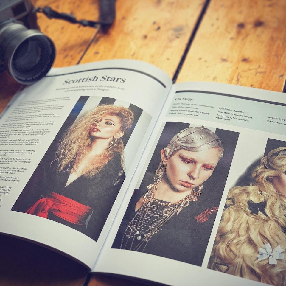 TEAR SHEETS Fellowship Magazine Feature