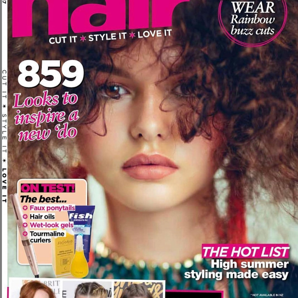 TEAR SHEETS JARRED Photography - Hair Magazine cover feature