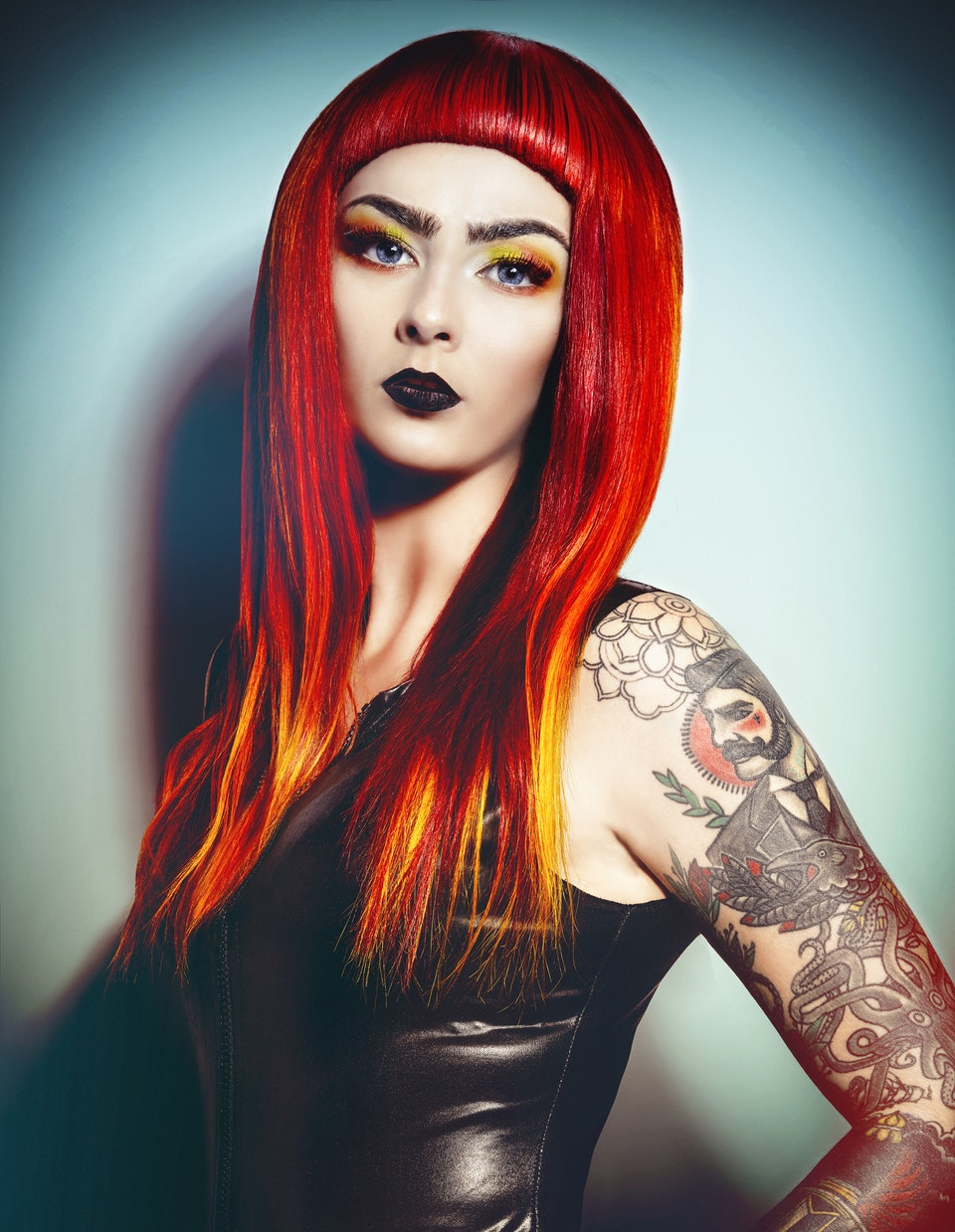 JARRED Photography - FLAMING JUNE - URBAN HAIR
