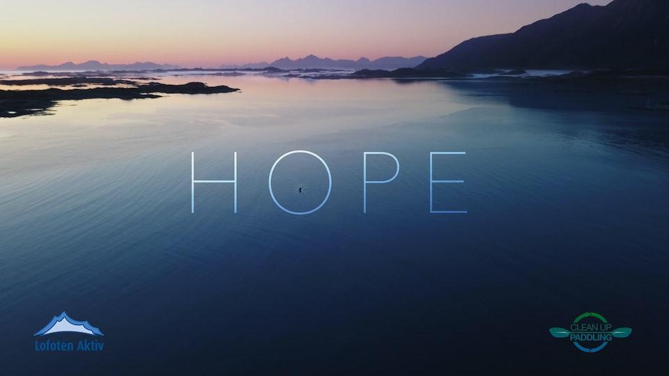 HOPE - cleanup paddling Lofoten