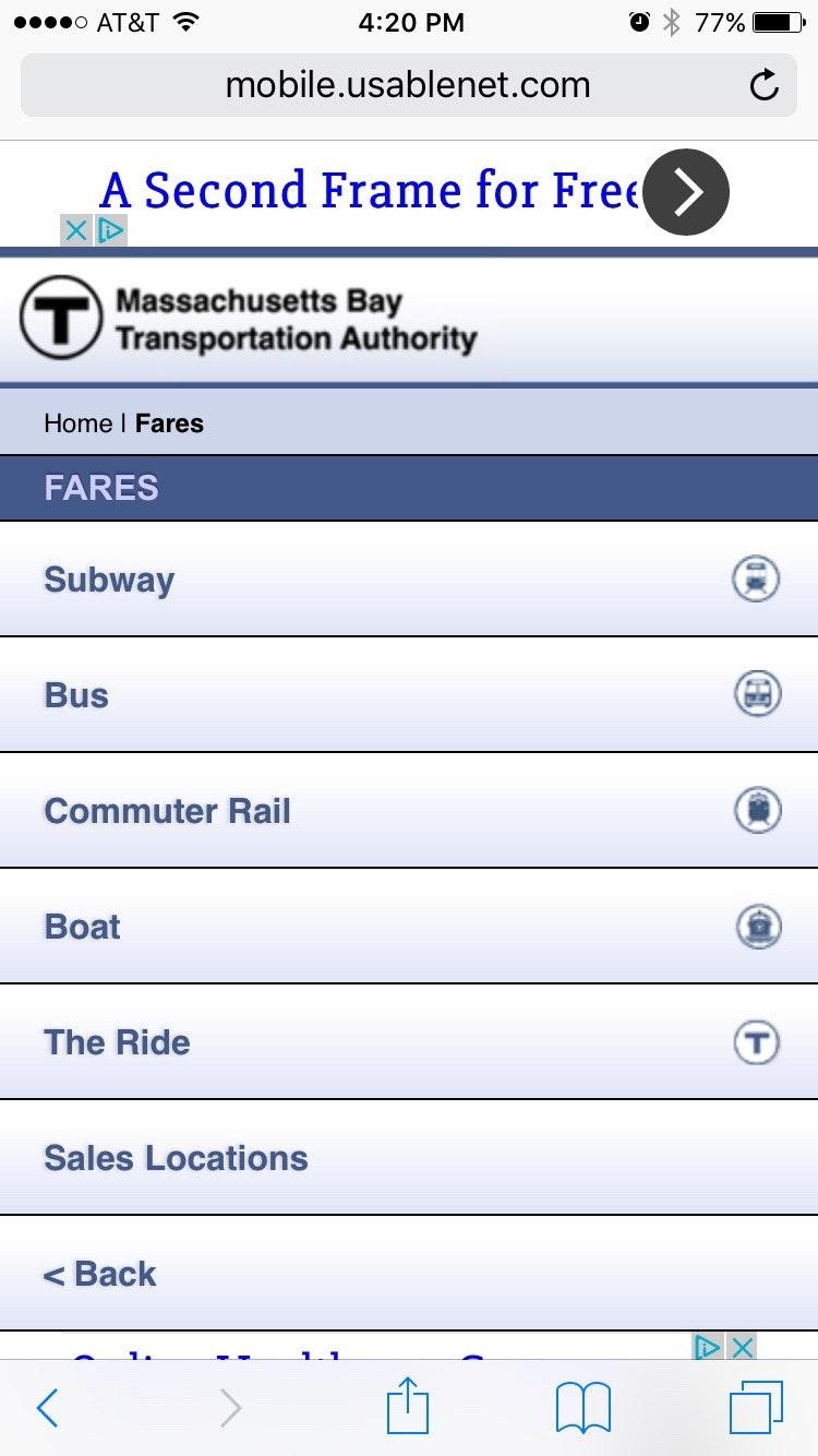 MBTA: Fares & Passes - Daniel Dodman