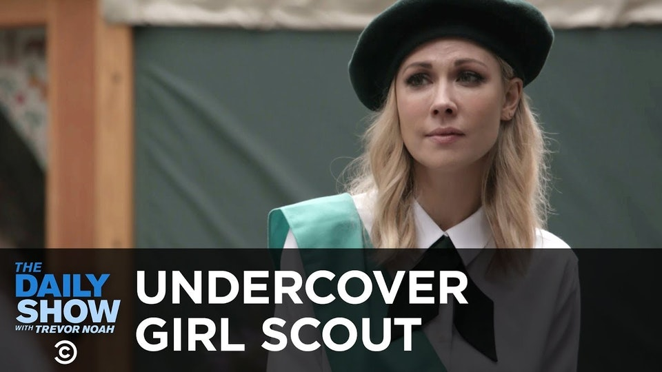 The Daily Show with Trevor Noah / UNDERCOVER GIRL SCOUT