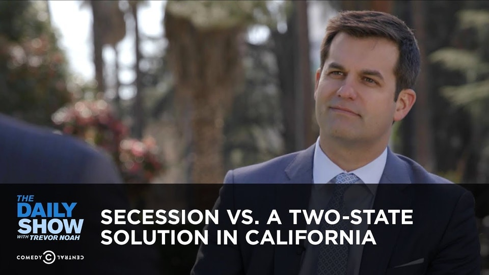 The Daily Show with Trevor Noah / SECESSION