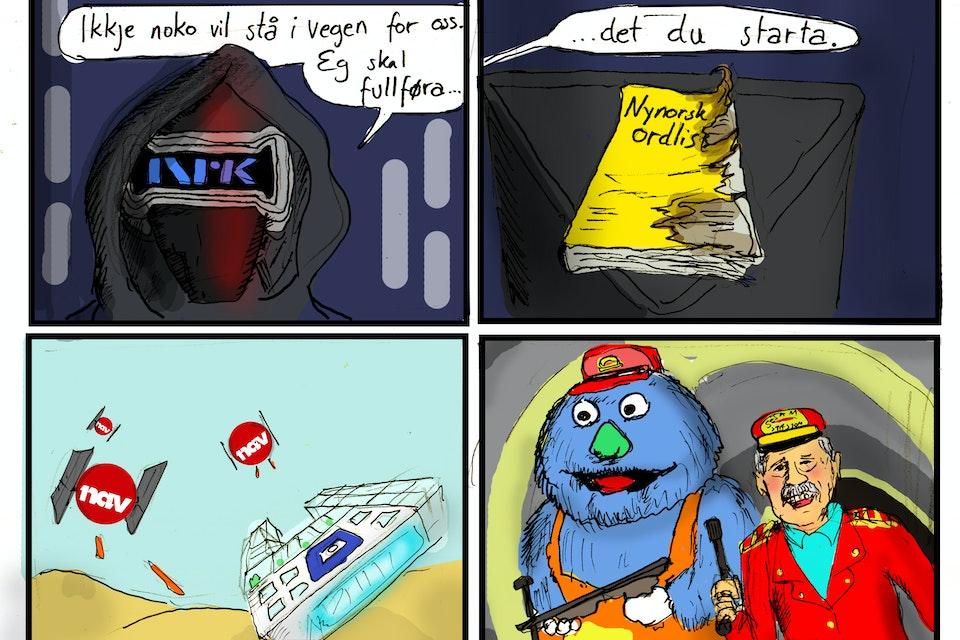 """Satire - """"Spitposten"""" -"""