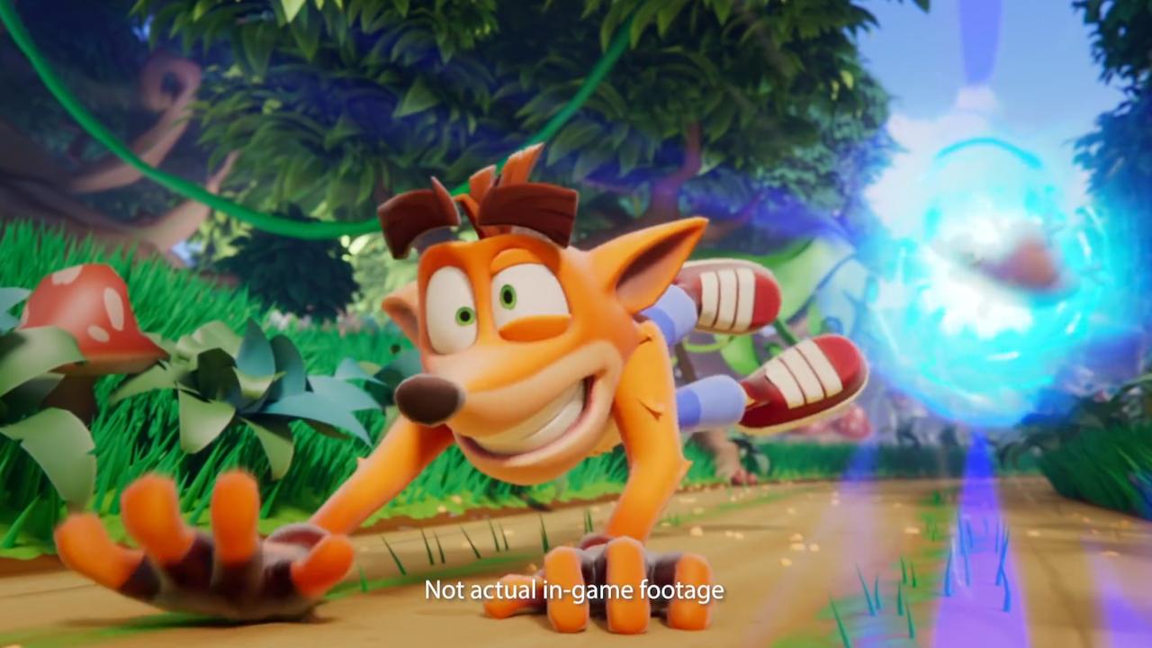 Crash Bandicoot - On The Run Game Trailer