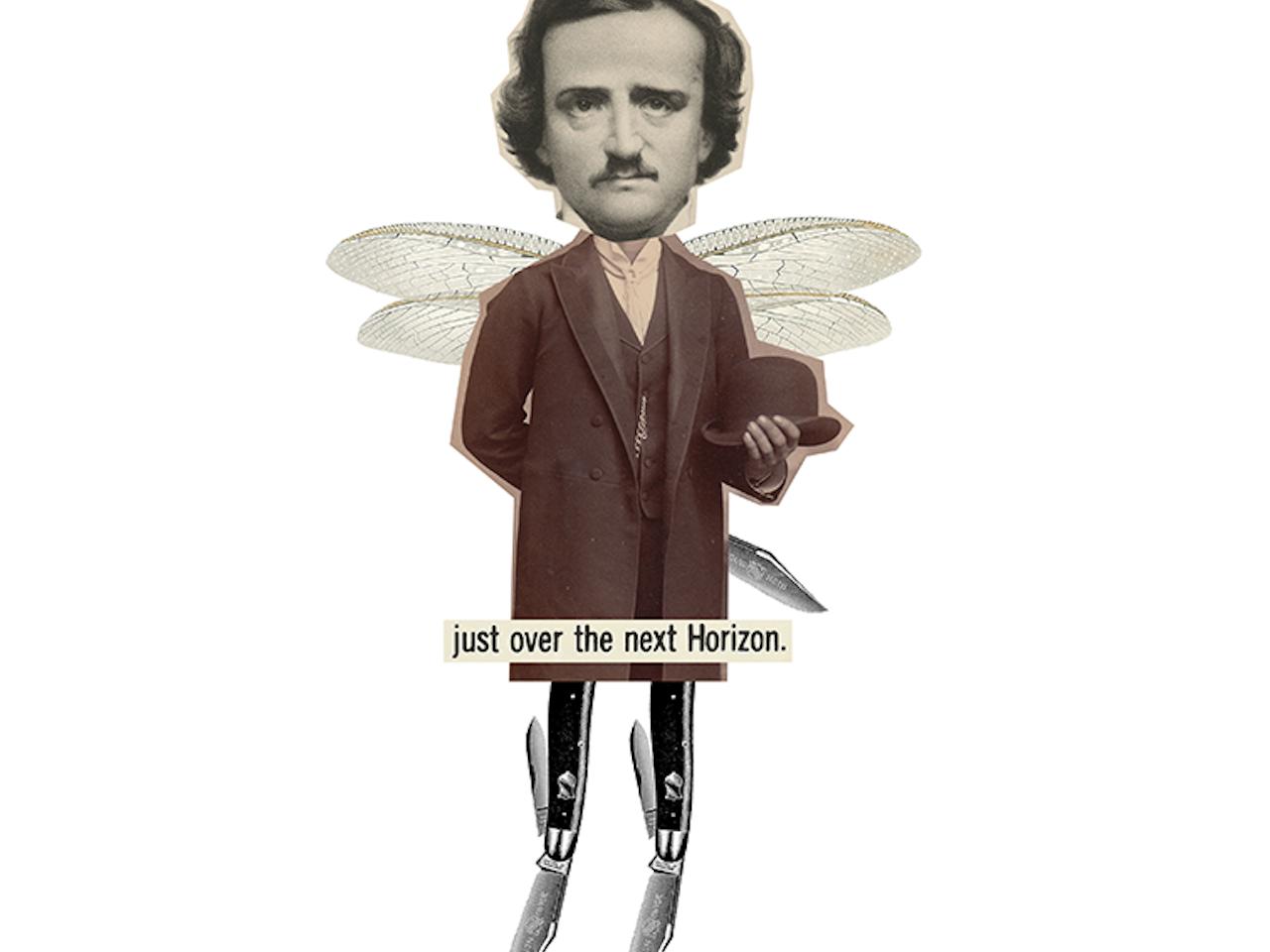 Edgar Dragonfly Poe