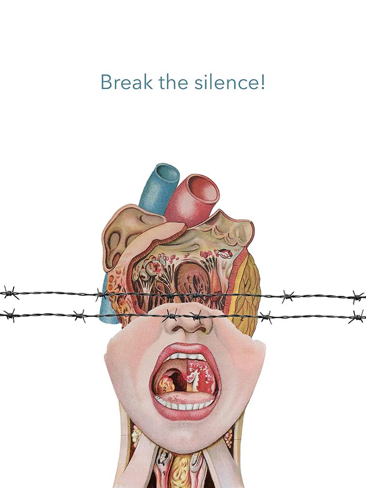 ¡Rompe el silencio!