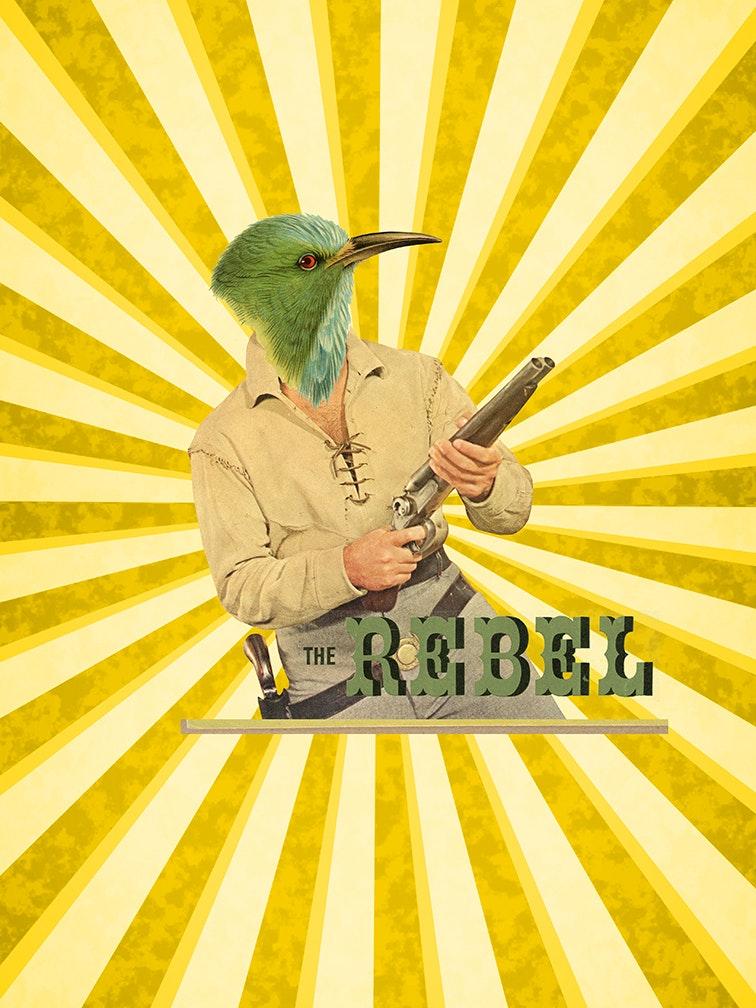 El ave rebelde