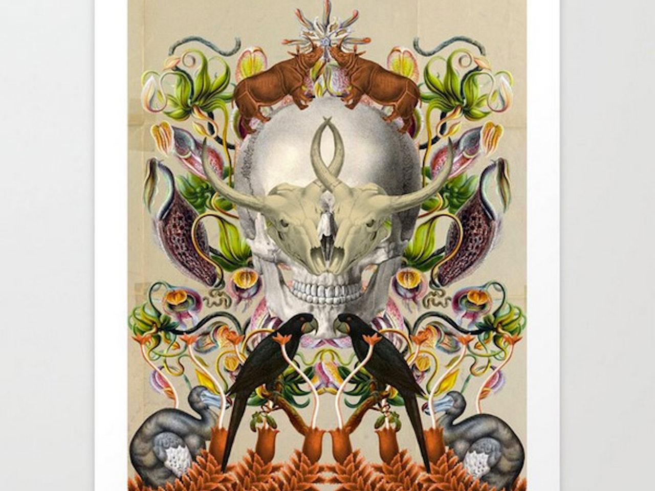 Altar de especies extintas