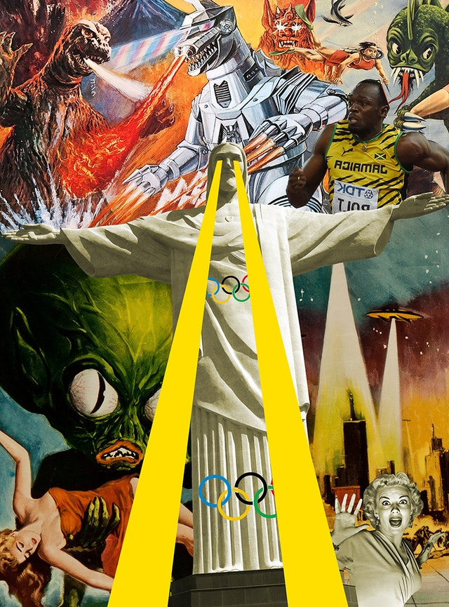 Collage para la edición de julio de 2016