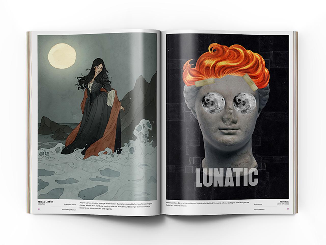 Flipside Full Moon Edition Art Quarterly