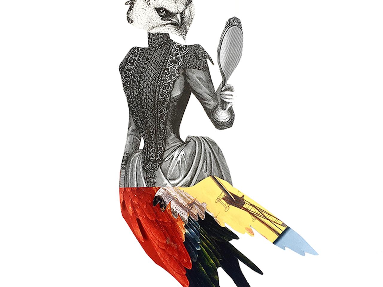 Mujer Halcón victoriana