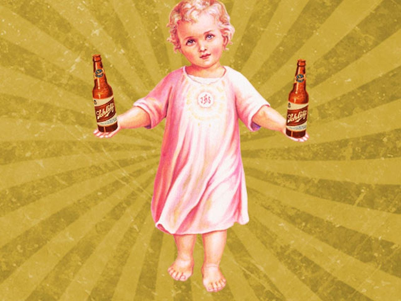 Les traigo amor y cerveza