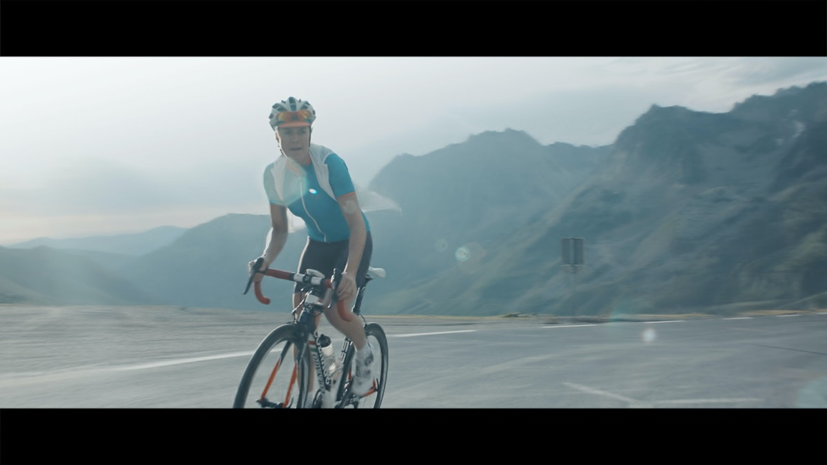 stuart hamilton directs, Queen of the mountains brand film...