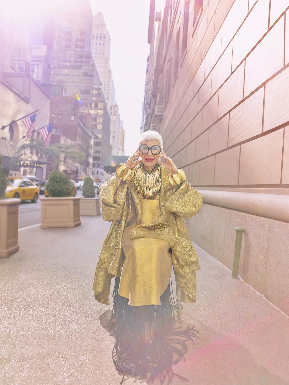 Iris Apfel for Vogue