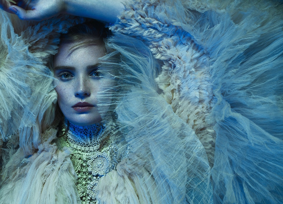 Harper's Bazaar Arabia with Alexina Graham