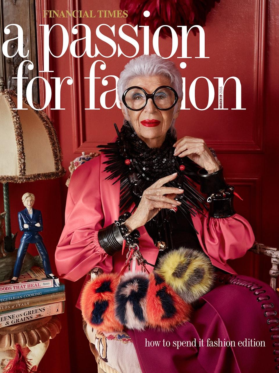 Iris Apfel Financial Times