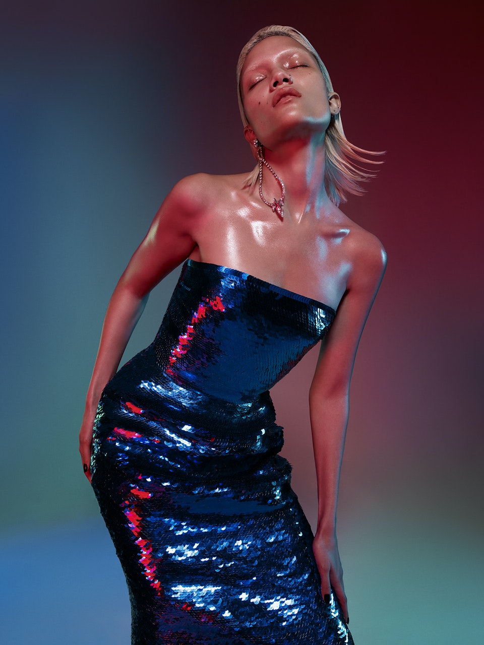 Charlotte Carey for Harpers