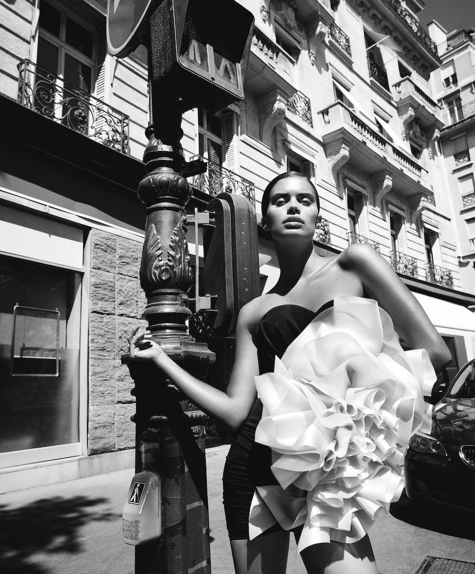 Sara Sampaio for Harpers Bazaar