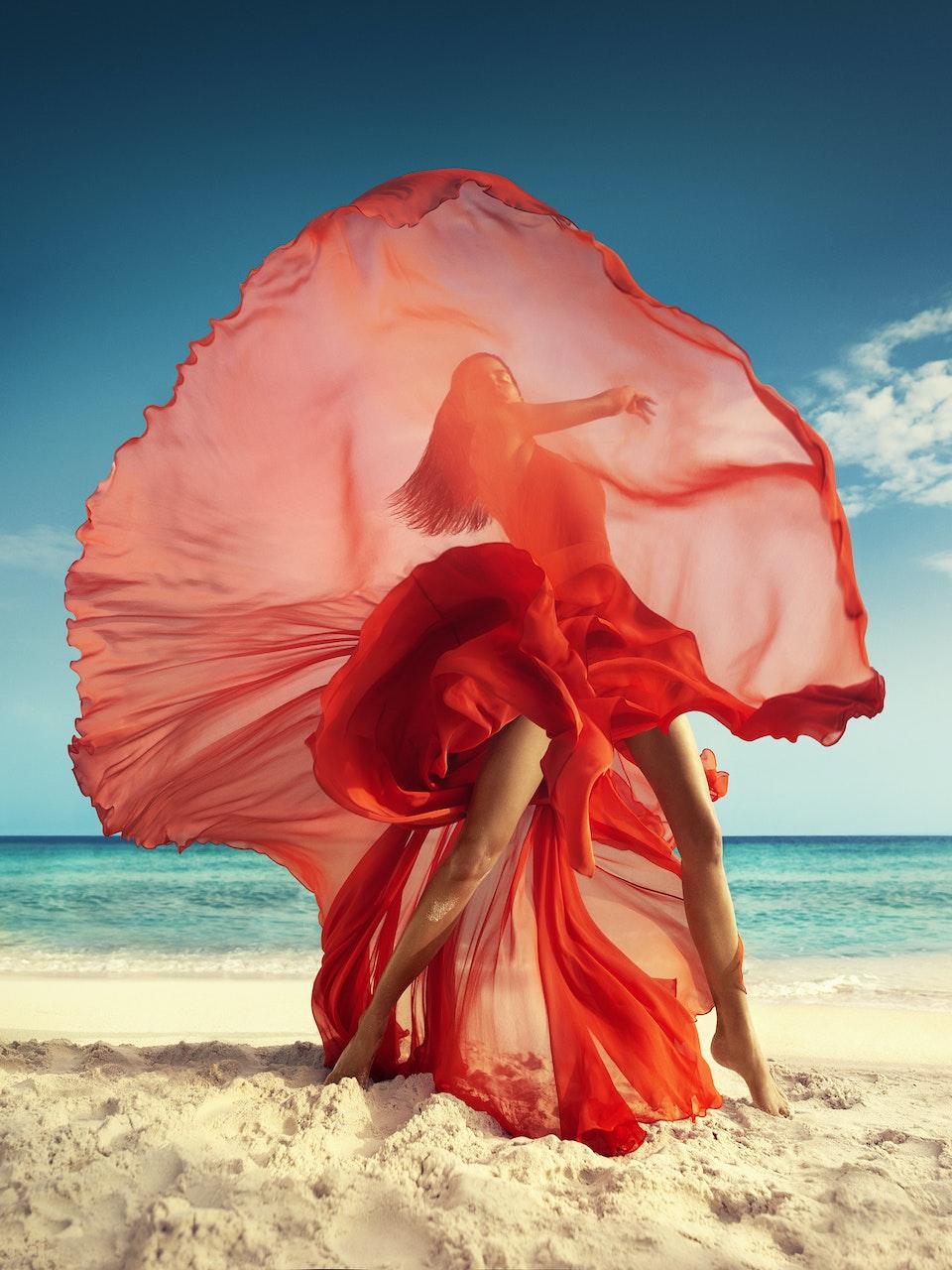 Vogue India Orange