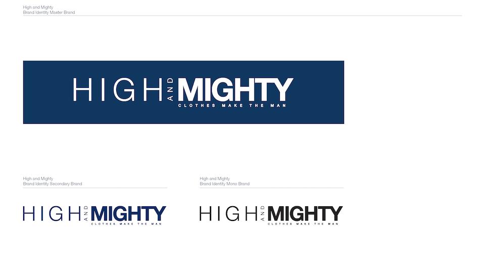 High & Mighty Branding & Store Communications