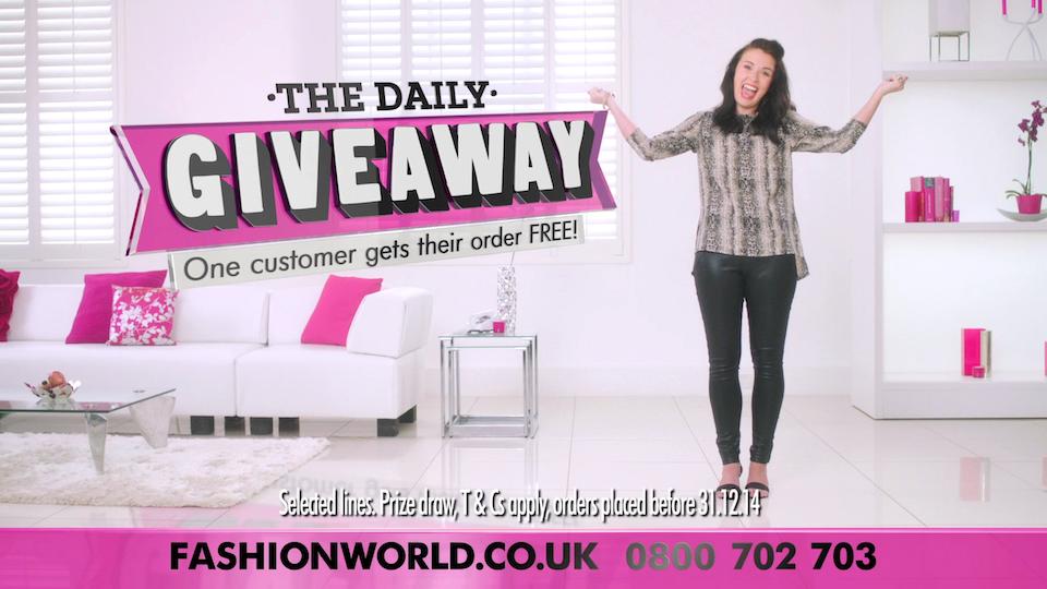 Fashion World TV Adverts