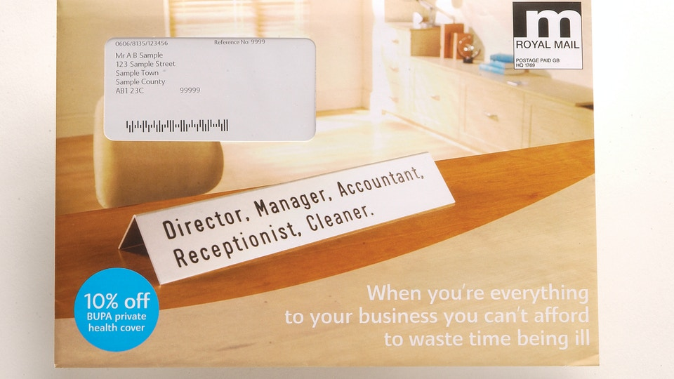Bupa Direct Mail