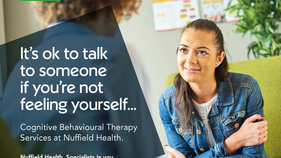 Nuffield Health CBT Campaign