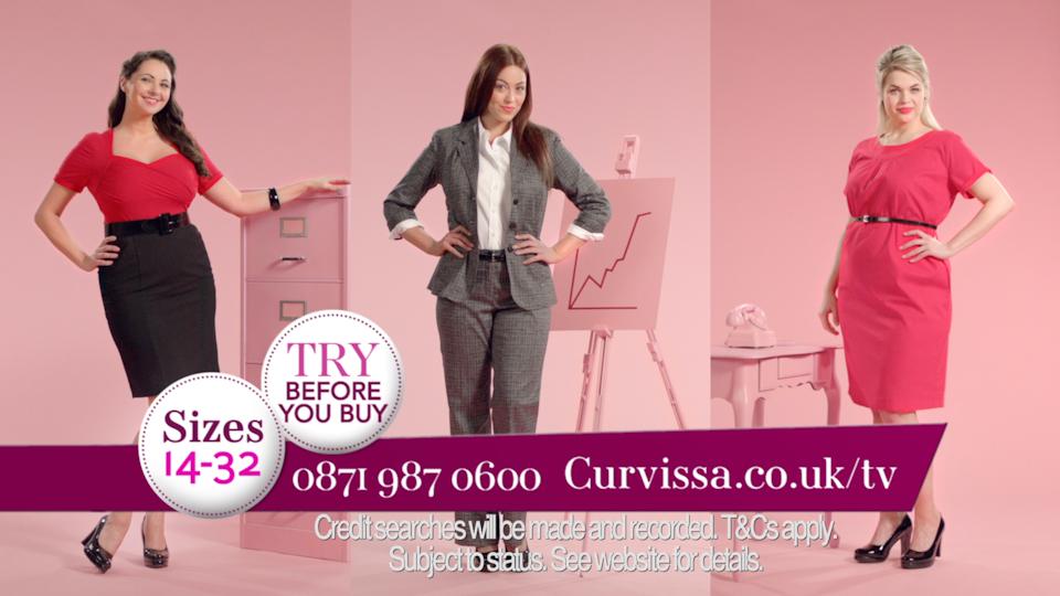 Curvissa TV Adverts