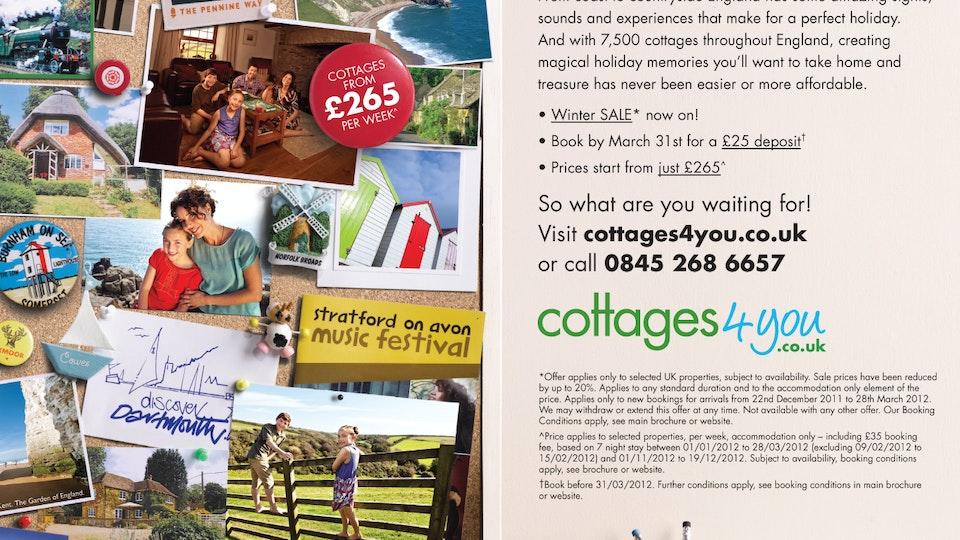Cottages4you Campaigns