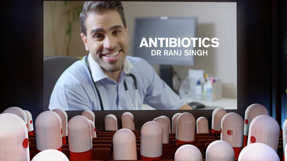PHE Antibiotics Social Campaign
