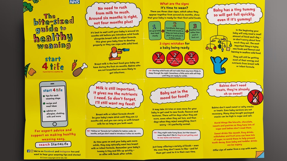 Public Health England Weaning Campaign