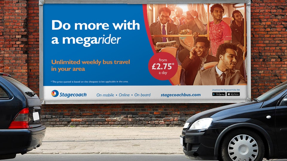 Stagecoach Megarider Integrated Campaign