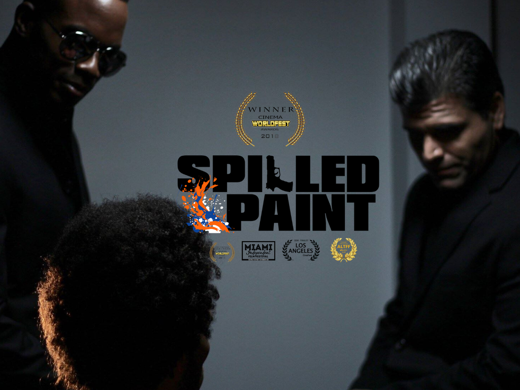 SPILLED PAINT Short Film