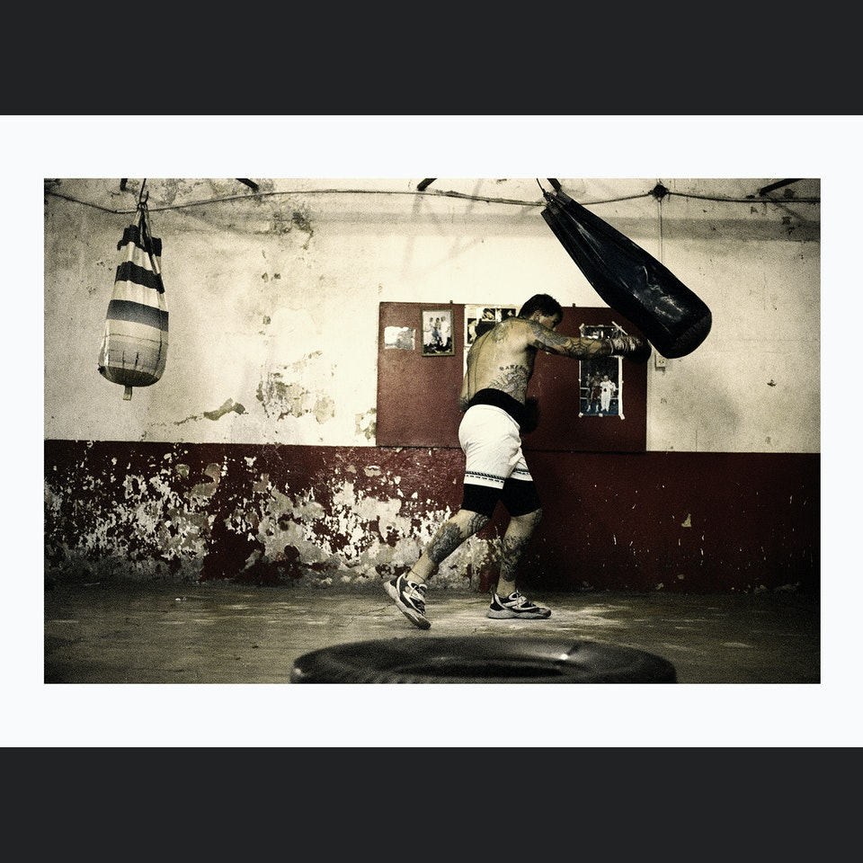 PHOTOGRAPHIC PORTFOLIO BOXERPUNCHING