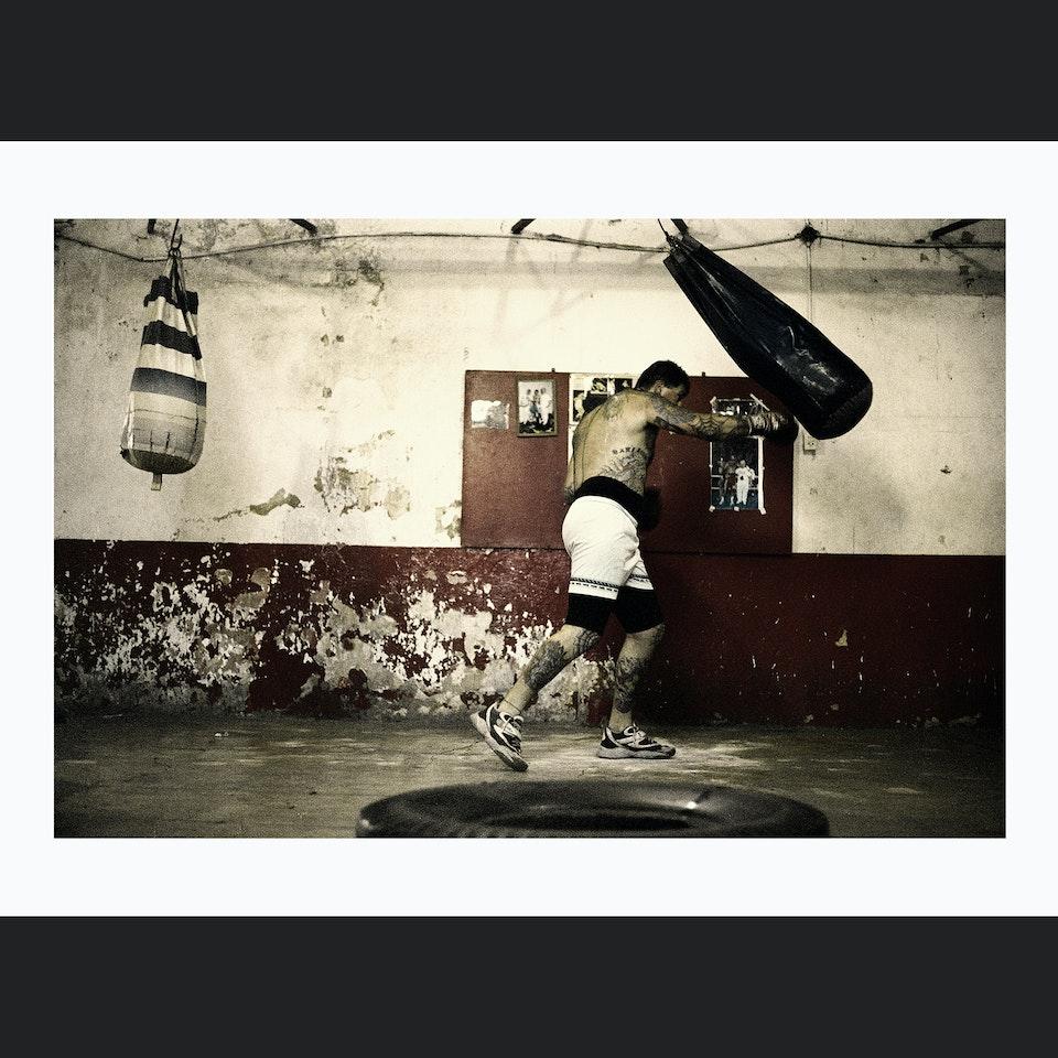 PHOTOGRAPHIC PORTFOLIO BOXERPUNCHING